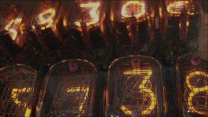 Neon numbers, Phil Hawksworth