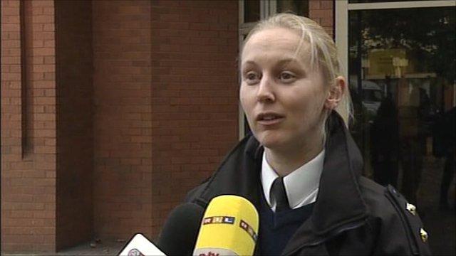 RSPCA Inspector Nicky Foster