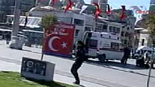 Turkish police in Istanbul - 31/10/10