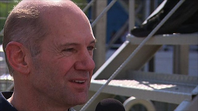 Red Bull's chief technical director Adrian Newey