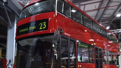 The new Routemaster model