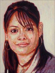 Portrait of Melissa Gonzalez Luna, by Andres Basurto