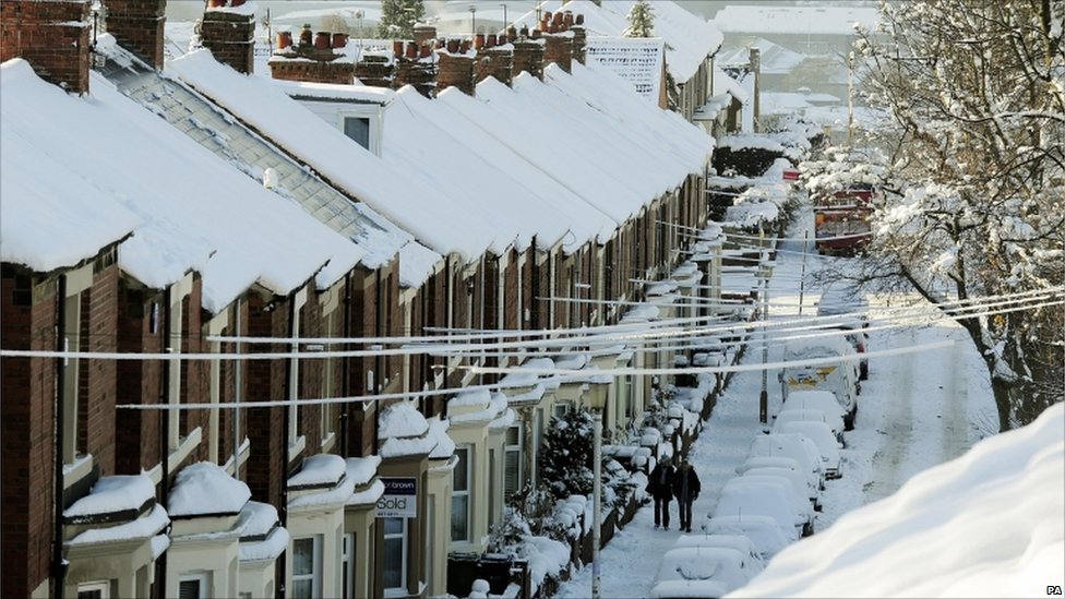 BBC News In Pictures Snow Scenes From Across UK