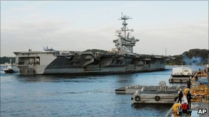 USS George Washington (24 November 2010)