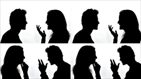 Female and male profiles