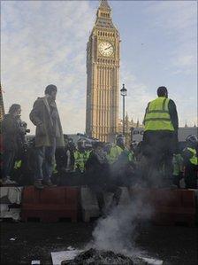 Westminster on 9 December