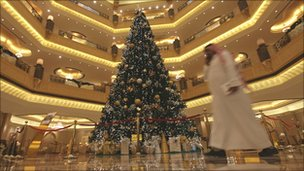 'Most expensive Christmas tree' hosted by a Muslim country