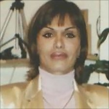 File picture of Zahra Bahrami used in campaigning