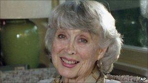 Betty Garrett. Photo: 1997