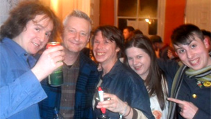 Billy Bragg joins Glasgow student occupation after gig