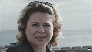 Galyna Kolotnytska - undated file pic