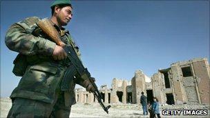 Kabul museum in 2004