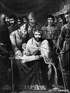 King John at Runnymede