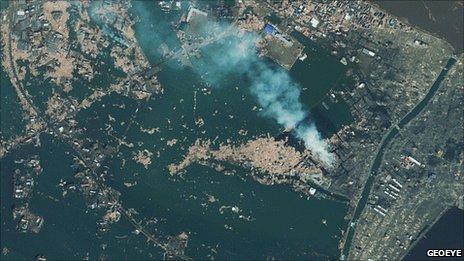 Coast of Japan  GeoEye