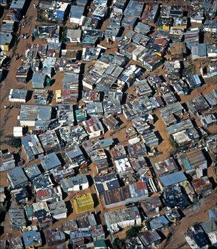 Soweto, South Africa (Image: BBC)