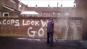Bogside graffiti