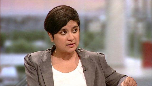 Shami Chakrabarti, director of Liberty group