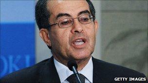 Mahmoud Jibril speaks in Washington DC (12 May 2011)