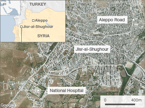 SYRIAN ARMY CLEANS UP IN IDLIB AND DELIVERS LETHAL BLOWS IN JISR AL-SHUGHOOR; FSA SPLINTER GROUP SECEDES 1