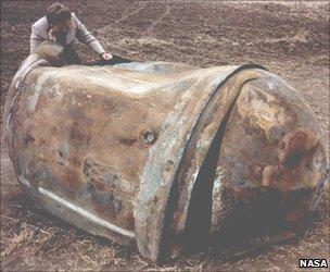 Rocket propellant tank (Nasa)