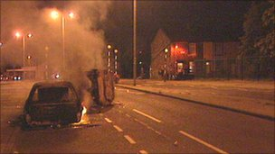 Burnley riots 2001