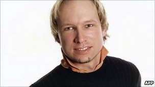 Suspected Norway attacker Anders Behring Breivik