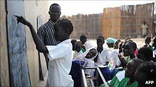 Classroom in South Sudan