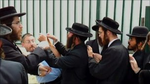 "Ultra-orthodox protestors accuse school girls of ""sluttishness"" in Beit Shemesh"