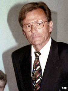 German doctor Dieter Krombach, sentenced for the rape and the murder of his French stepdaughter Kalinka in 1982.