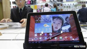 Samsung's original Galaxy Tab 10.1