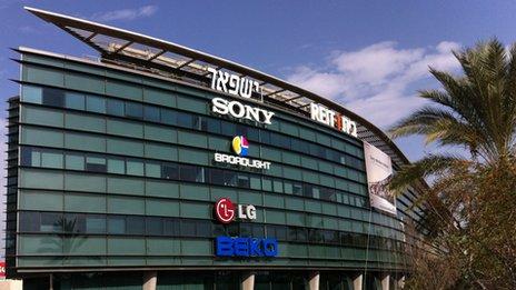 Sony y otras compañías, Israel