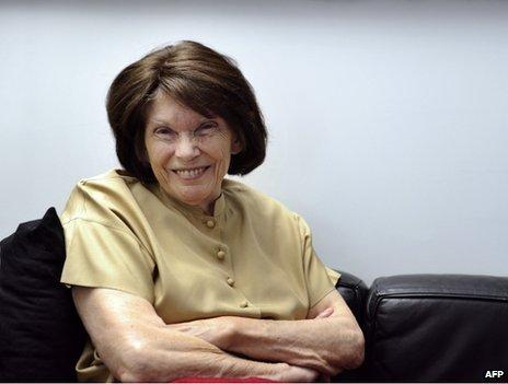 Danielle Mitterrand, 3 October 2011