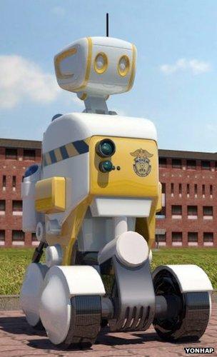 Prison πρωτότυπο ρομπότ φρουρός