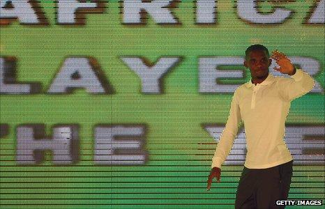 Cameroonian Samuel Eto'o