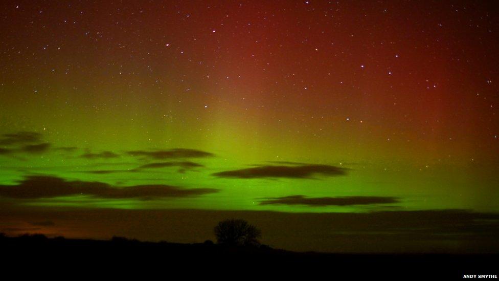 Northern Lights Northumberland
