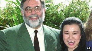 Francis Ford Coppola and Eiko Ishioka