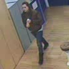 CCTV of woman at Folkestone library