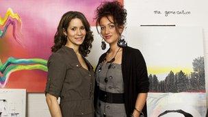 Elinor Olisa (left) and Isobel Beauchamp