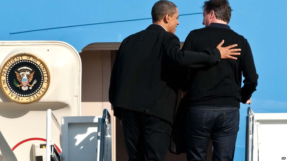 Bbc News  David Cameron's Us Visit In Pictures