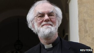 Archbishop of Canterbury Rowan Williams