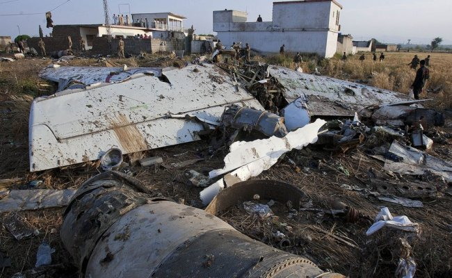 Bbc News In Pictures Pakistan Plane Crash