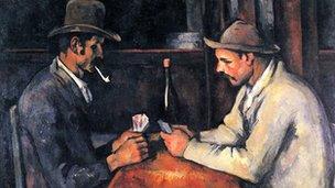 Paul Cezanne's The Card Players