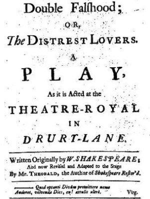 Lost Shakespeare play found? | Scripturient