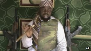 The leader of Boko Haram