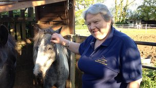 Maureen Rolls of SW Equine Protection