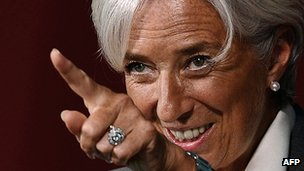 IMF head Christine Lagarde. Photo: May 2012