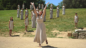 Rehearsal at Olympia