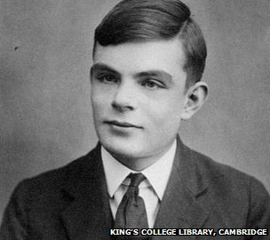 Alan Turing aged 16-years-old