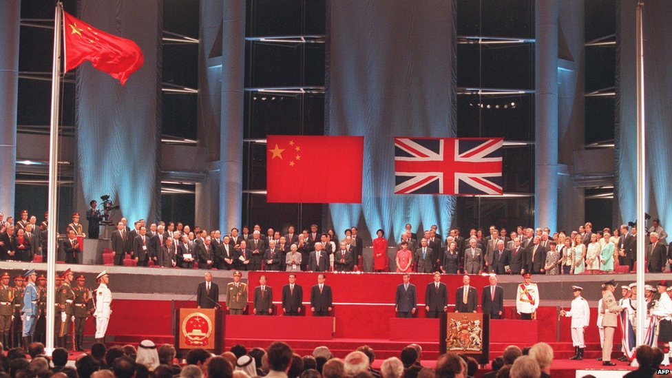 BBC News - In pictures: Hong Kong handover 15 years on