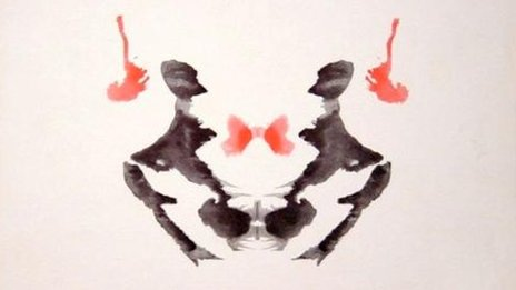 An image from the Rorschach test